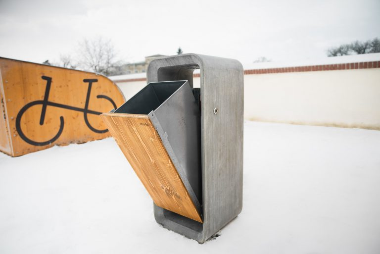 Urbania Abfallbehälter Lipo 3